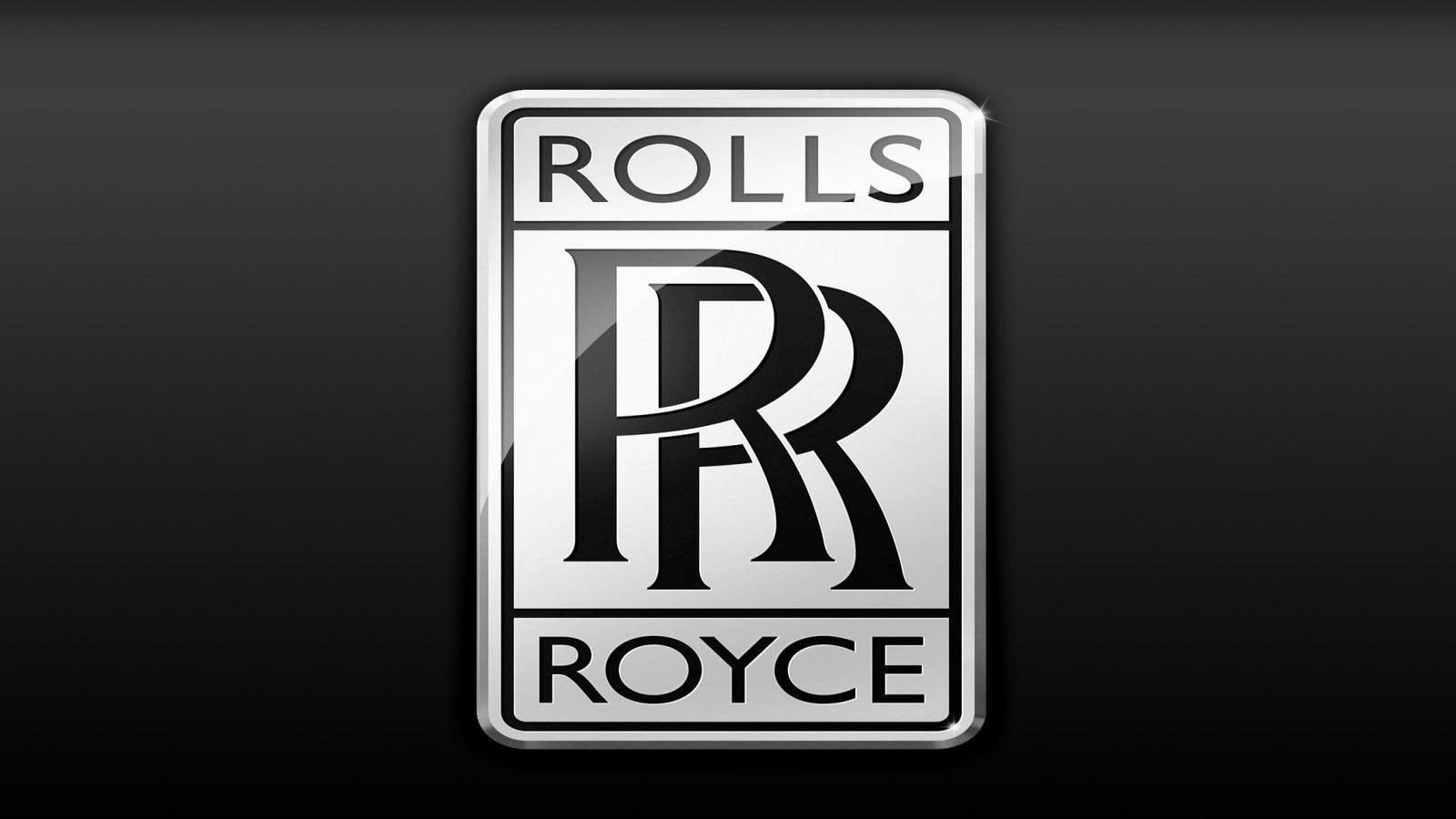 rolls royce logo - HD1600×900